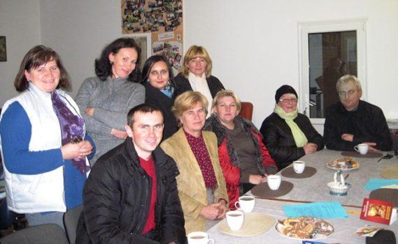 Волонтери соціального служіння у Карітасі Львова обговорювали створення і реалізацію соціальних проектів при парафіях