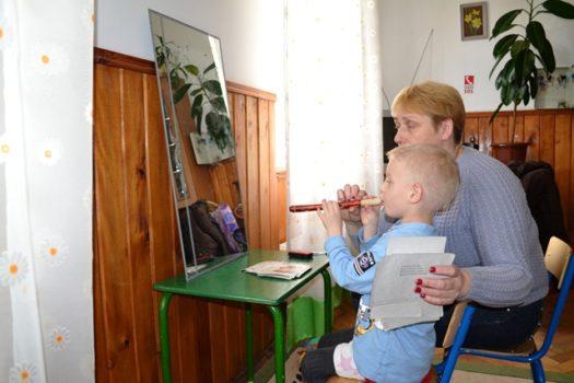 У дошкільному закладі Карітасу Львова з дітьми працює логопед