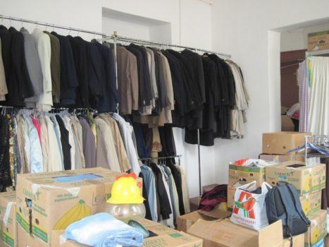 Пункт видачі гуманітарної допомоги Карітасу Львова роздав близько 4 тонн речей