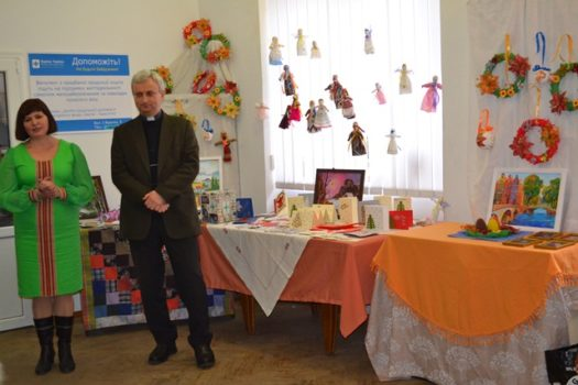 У Карітасі Львова відбулась виставка «Веселе рукоділля»