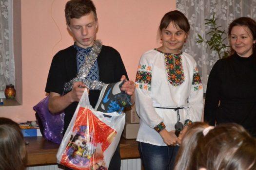 Понад 150 дітей і молоді отримали подарунки від святого Миколая у Карітасі Львова