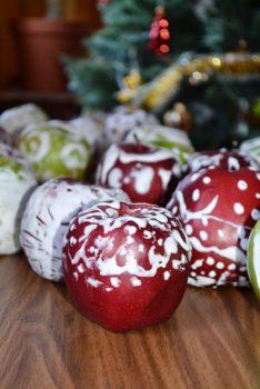 У проекті «Мобільна робота з молоддю в Україні» Карітасу Львова відбувся майстер-клас з розпису яблук