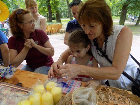 Молодь з особливими потребами провела майстер-класи для львів'ян та гостей міста