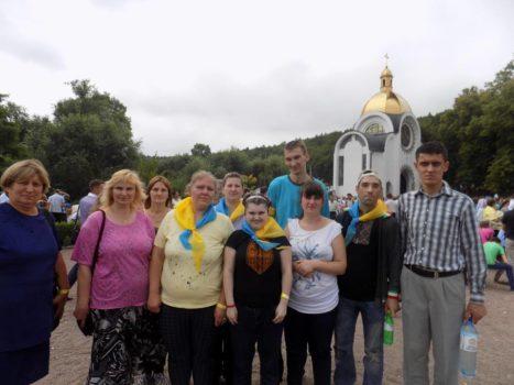 Молодь з особливими потребами Карітасу Львова взяла участь у загальнонаціональній прощі до Зарваниці