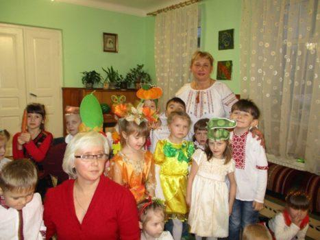 Діти дошкільного закладу Карітасу Львова прощалися з осінню
