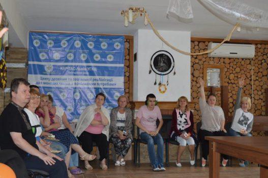Молодь з особливими потребами Карітасу Львова провела змістовне дозвілля у літньому оздоровчому таборі