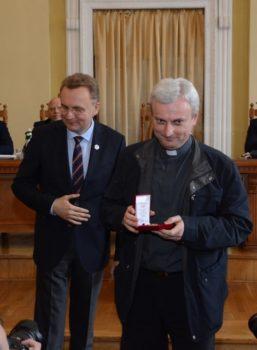 Отця Андрія Сенейка нагородили відзнакою «Почесний знак Святого Юрія»