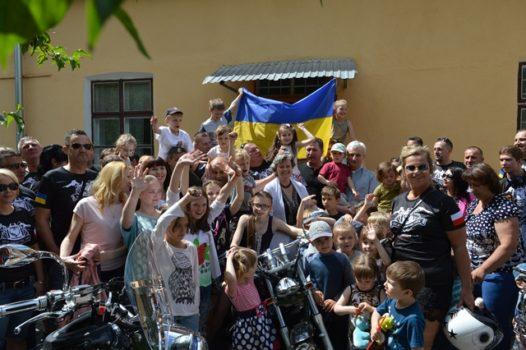 Карітас Львова відвідали байкери з Польщі