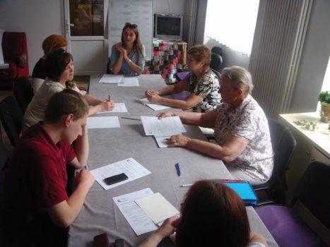 У Карітасі Львова представники громадського руху «СИЛА ПРАВА» зустрілись з ВПО та ветеранами АТО