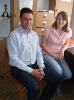 Карітас Львова відвідала представник від уповноваженого Верховної Ради України з прав людини