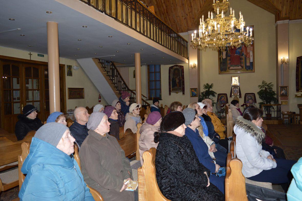 Про парафіяльний Карітас говорили на зустрічі активних парафіян храму свв. Кирила і Методія