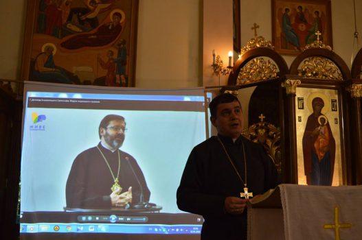 Перша зустріч з волонтерами соціального служіння на парафії свв. Кирила і Методія