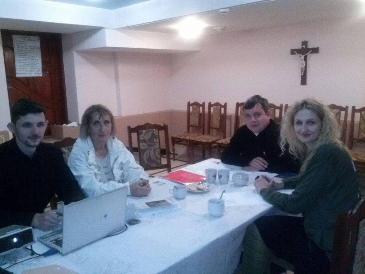 Зустріч лідерів парафіяльного Карітасу парафії Всіх святих українського народу