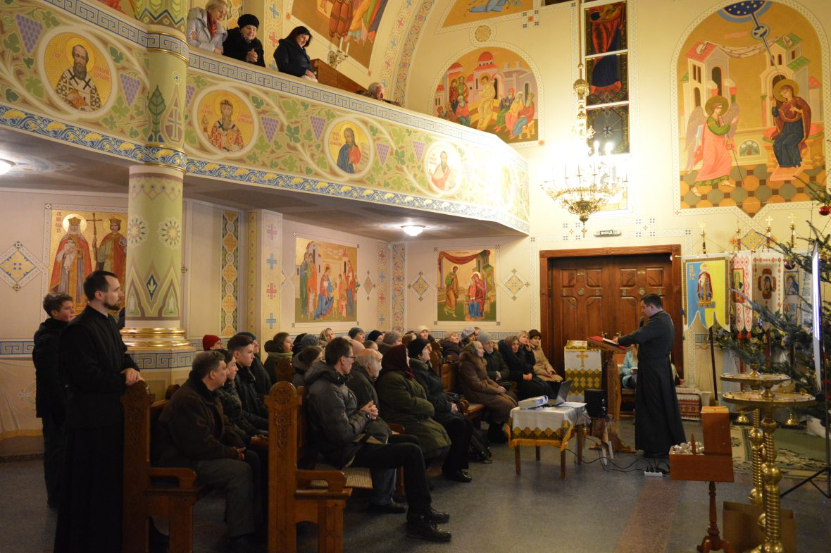 Перша зустріч волонтерів соціального служіння відбулась на парафії Введення в храм Пресвятої Богородиці