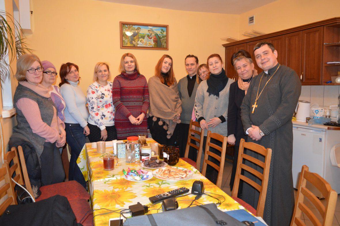Зустріч волонтерів осередку парафіяльного Карітасу храму Положення пояса Пресвятої Богородиці