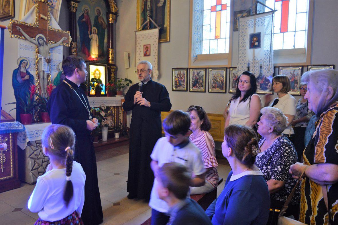Зустріч з активними парафіянами храму св. Андрія і свщмч. Йосафата