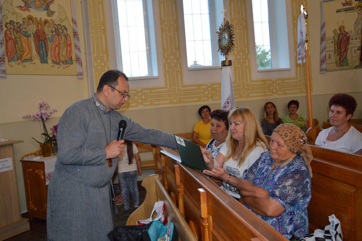 Друга зустріч з активними парафіянами у с. Лапаївка