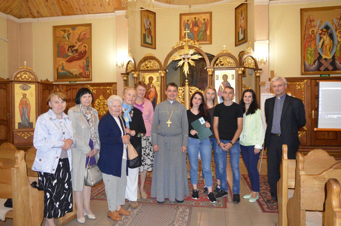 Третя зустріч з активними парафіянами у храмі свв. Кирила і Методія