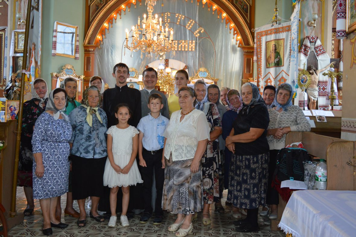 Зустріч з активом парафії у с. Печенія