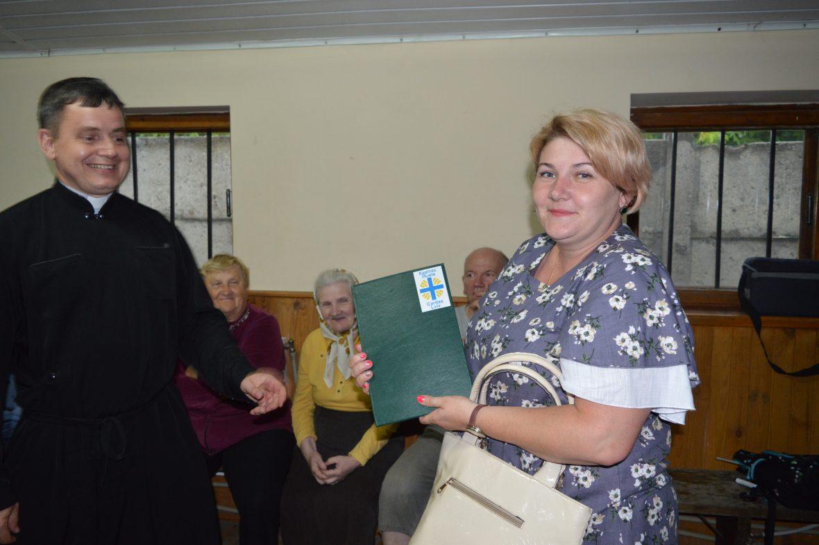 Друга зустріч волонтерів соціального служіння у парафії Пресвятої Богородиці Володарки України