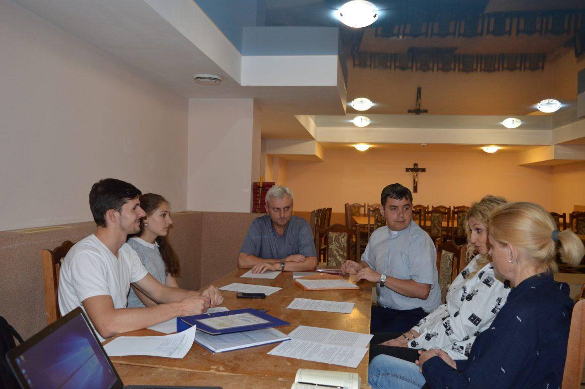 Зустріч активу Парафіяльного Карітасу у парафії Всіх святих українського народу