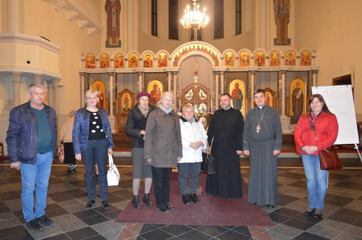 Третя зустріч з волонтерами соціального служіння у парафії Покрови Пресвятої Богородиці