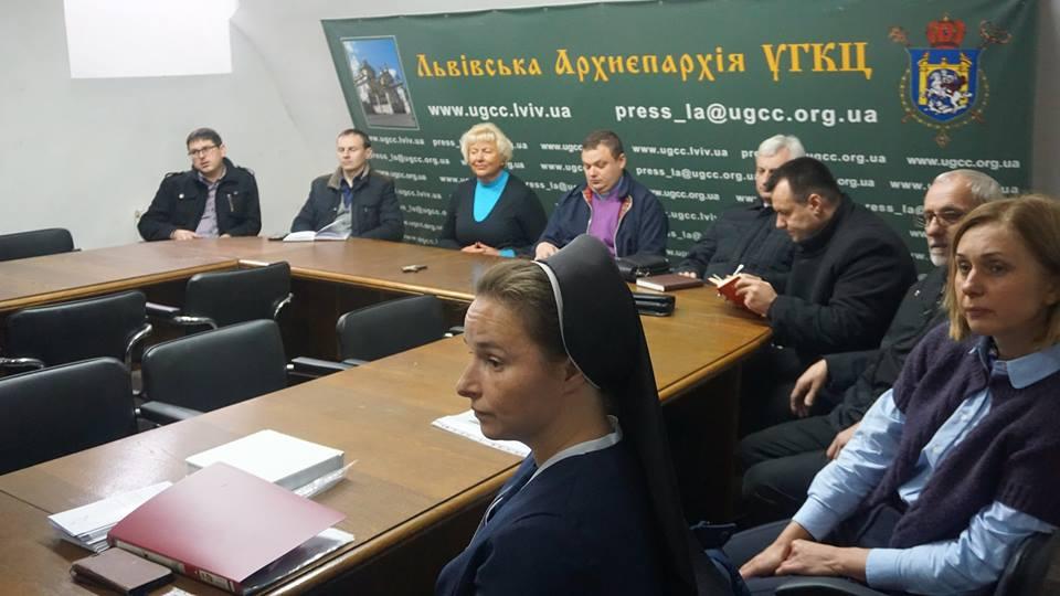 У Львівській Архиєпархії УГКЦ презентували нові ініціативи