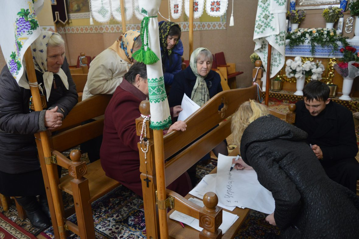 Про християнське волонтерство говорили на зустрічі у с. Тарасівка