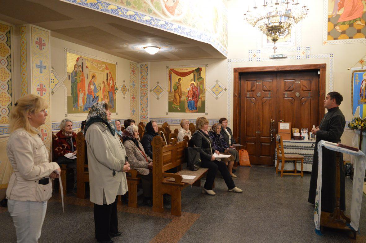 Зустріч з активними парафіянами громади Введення у храм Пресвятої Богородиці