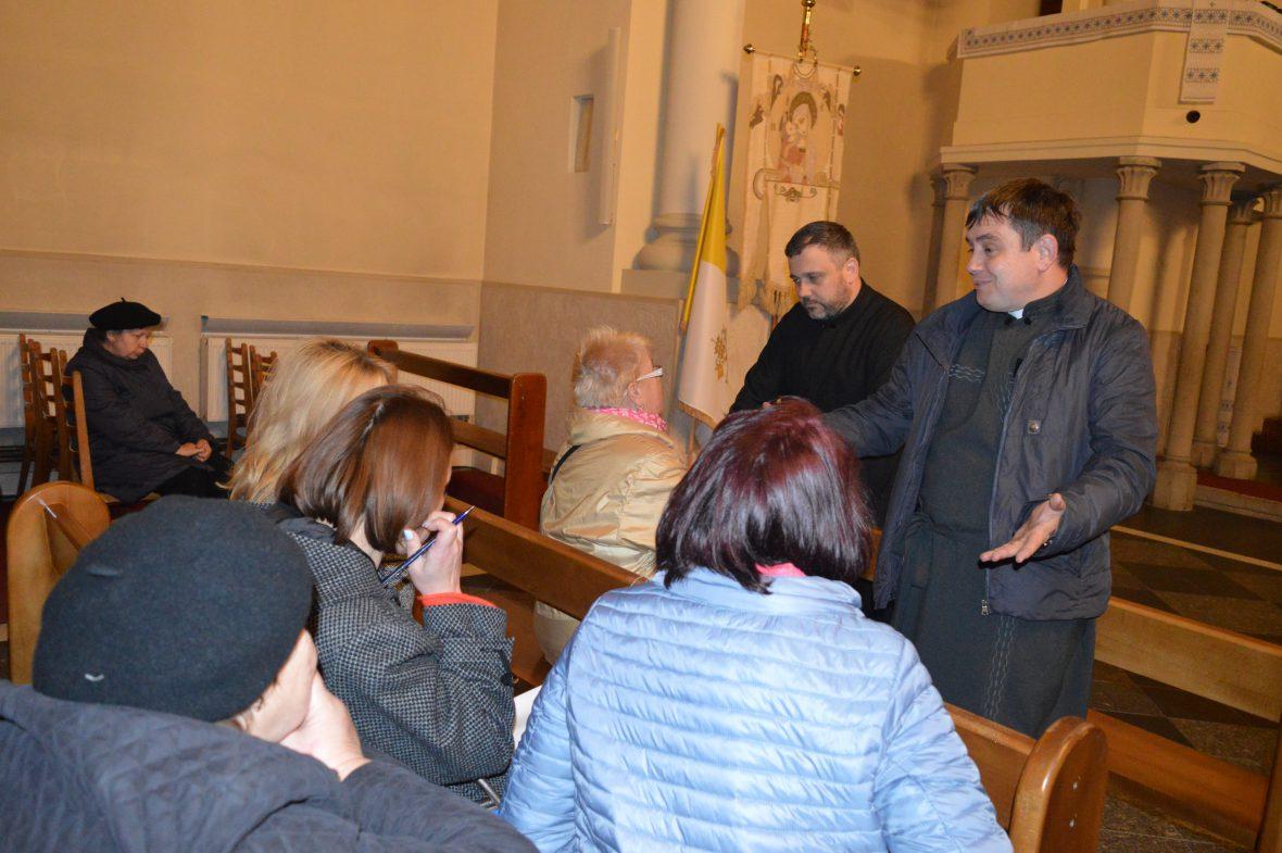Шоста зустріч з активними парафіянами храму Покрови Пресвятої Богородиці