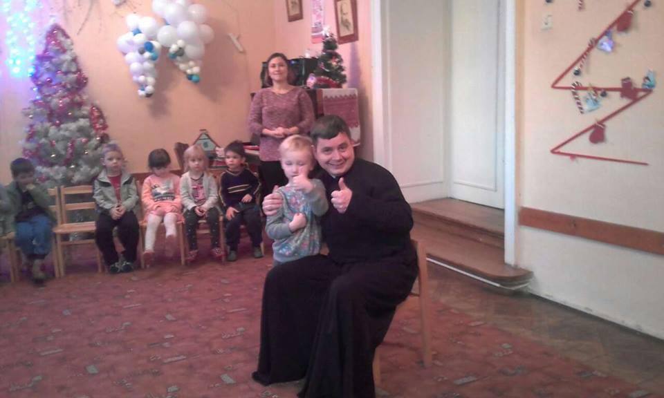 Представники Парафіяльного Карітасу відвідали дітей з пониженим і відсутнім слухом