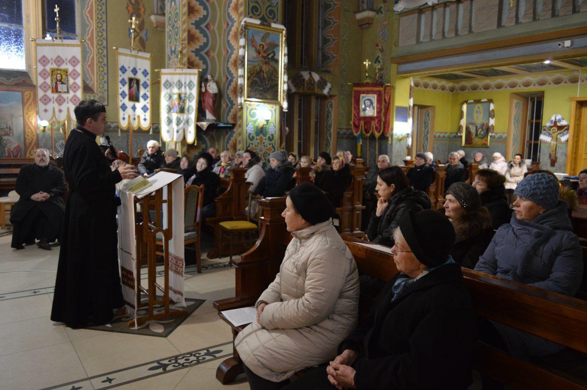 Перша зустріч з парафіянами храму св. влкмч. Димитрія с. Оброшине