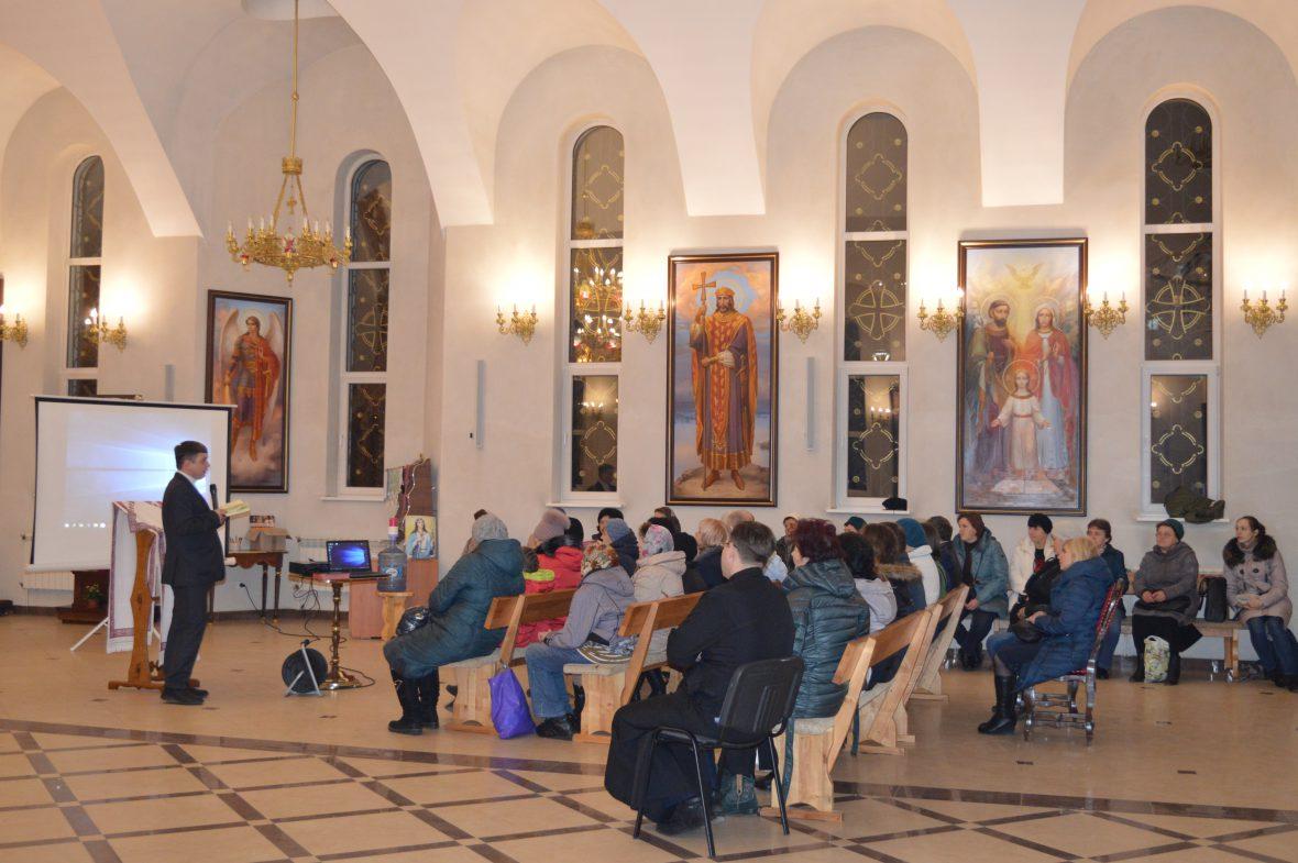 Перша зустріч з активізації соціального служіння на парафії Святого Івана Хрестителя у Львові