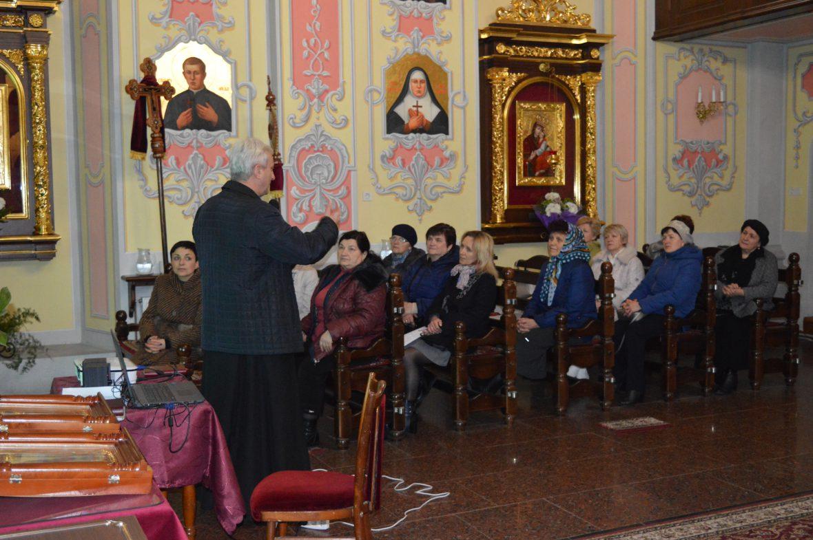 Перша зустріч з активними мирянами храму Преподобної Параскевії с. Зубра