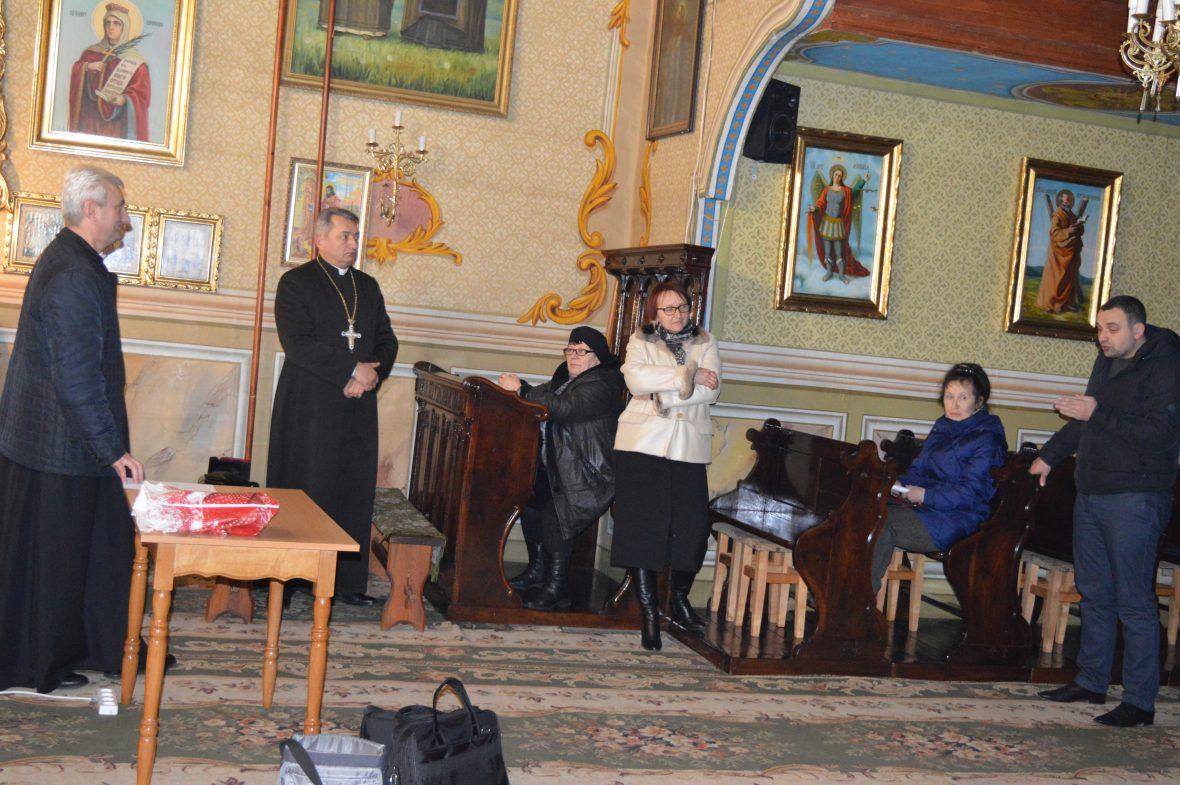 Перша зустріч з активізації соціального служіння на парафії Пресвятої Тройці с. Борщовичі