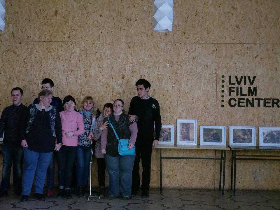 Молодь з особливими потребами Карітасу Львова взяла участь у заході Lviv Film Center