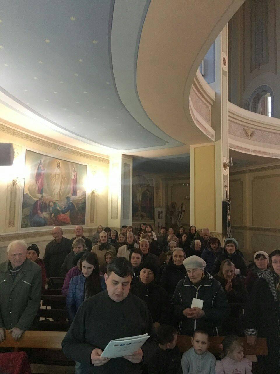 Друга зустріч з активними парафіянами храму святих апостолів Петра і Павла в с. Зимна Вода