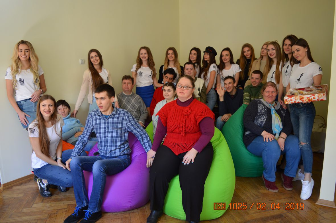 Міс Львів 2019 завітали в гості до особливої молоді Карітасу Львова