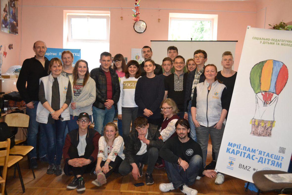 Вперше у Карітасі Львова відбувся обмін досвідом роботи з дітьми та підлітками на всеукраїнському рівні