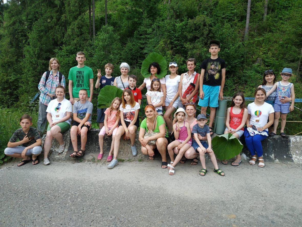 Карітас Львова організував сімейний табір «Відновлення сімейних традицій відпочинку»