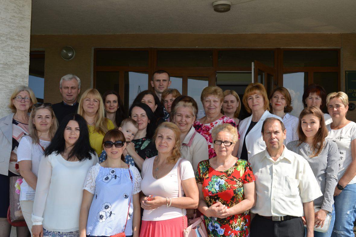 Зустріч-тренінг добровольців Парафіяльних Карітасів у Львівській Духовній Семінарії