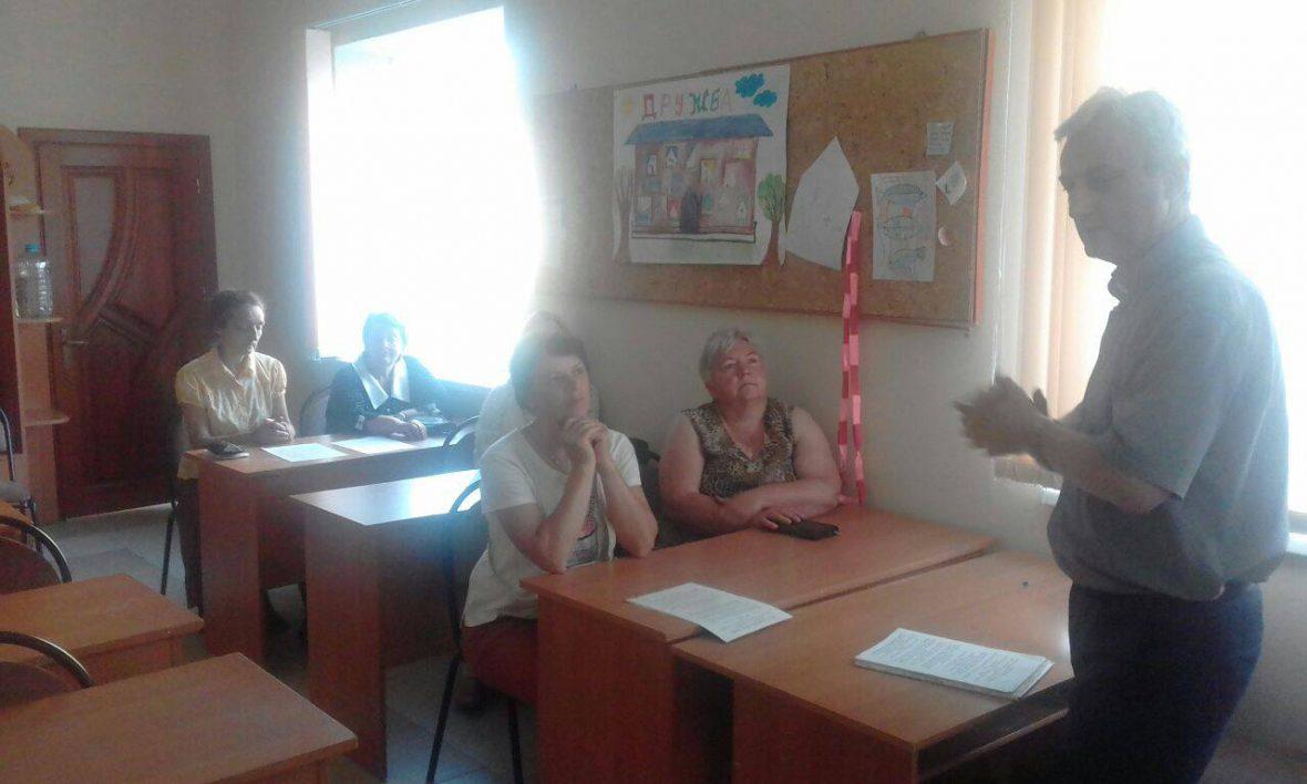 Зустріч з активними парафіянами у м. Пустомити
