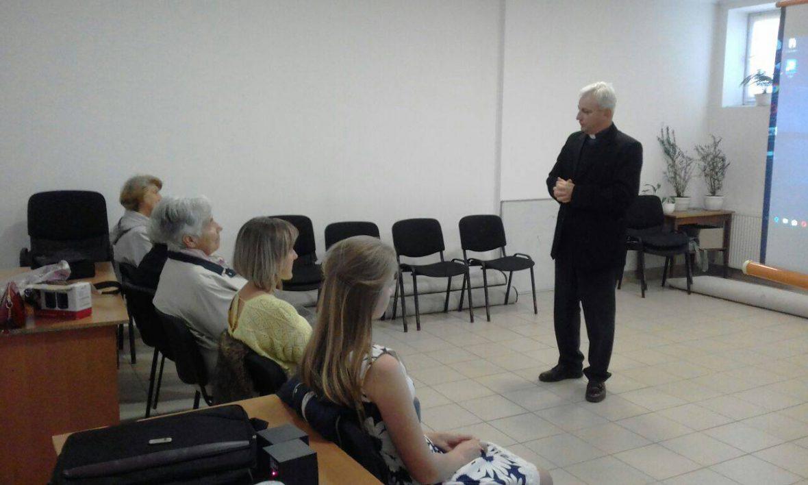 Зустріч з активістами львівської парафії Благовіщення Пресвятої Богородиці