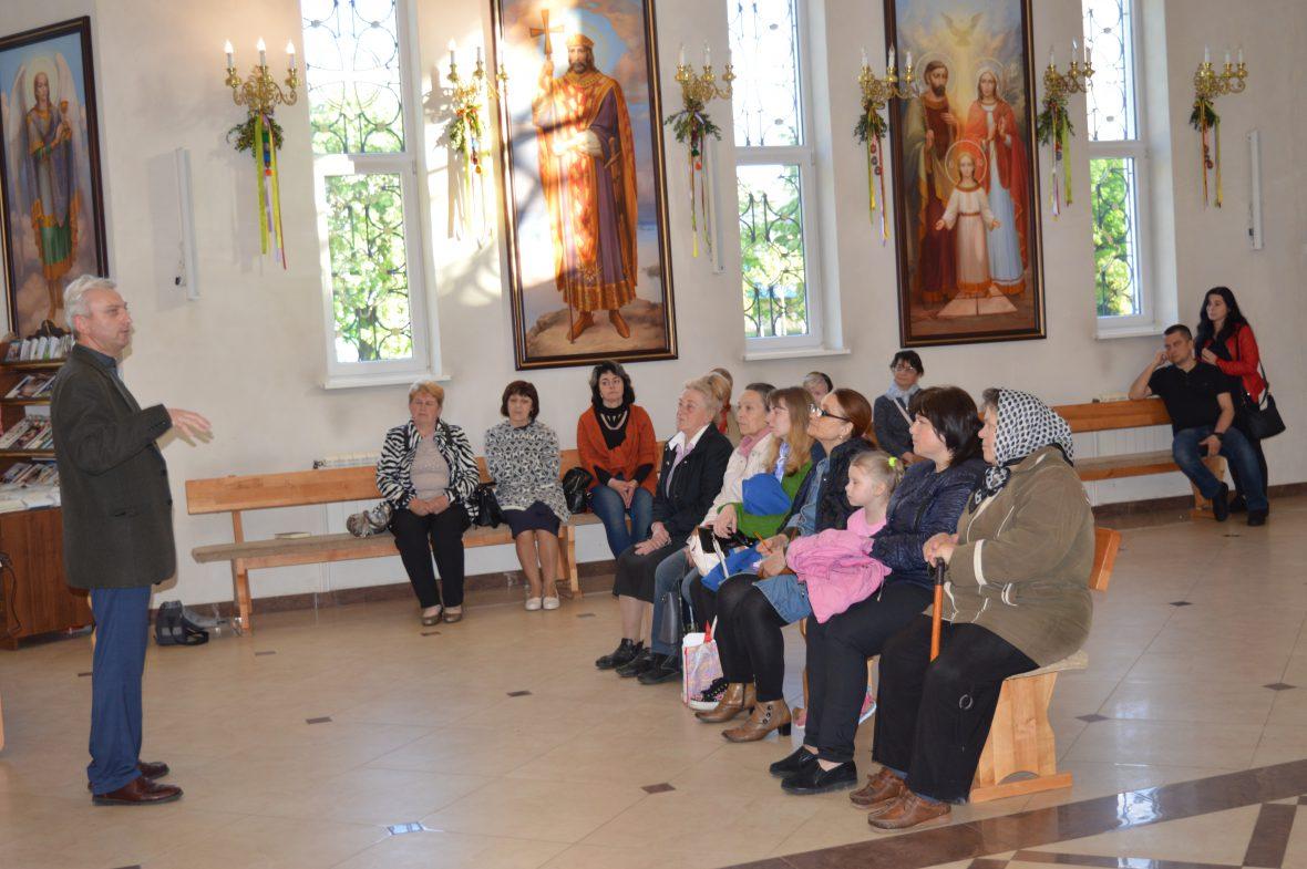 Про діяльність Парафіяльного Карітасу говорили у львівському храмі Собору святого Івана Хрестителя