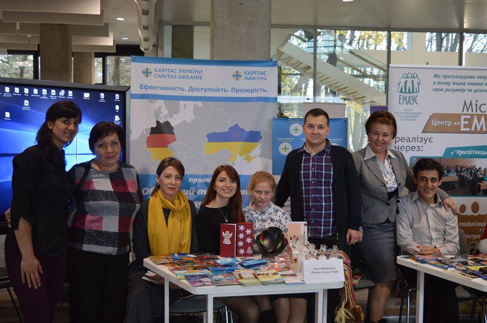 БФ «Карітас-Львів УГКЦ» презентував свою діяльність на «Соціальному форумі» у Львові