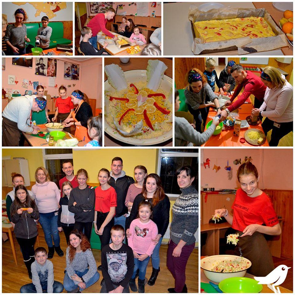 Кулінарний майстер-клас у партнерстві з працівниками АШАНу