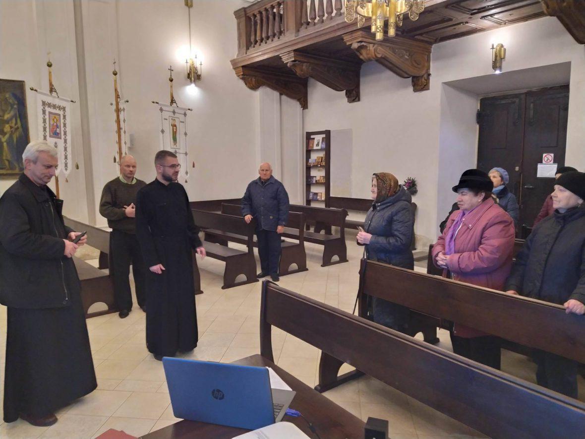 Перша презентаційно-мотиваційна зустріч з активними парафіянами відбулась у храмі Святої Софії