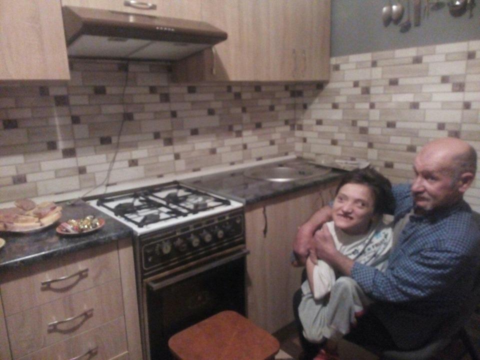 Парафіяльний Карітас подарував нову кухню дівчині з особливими потребами