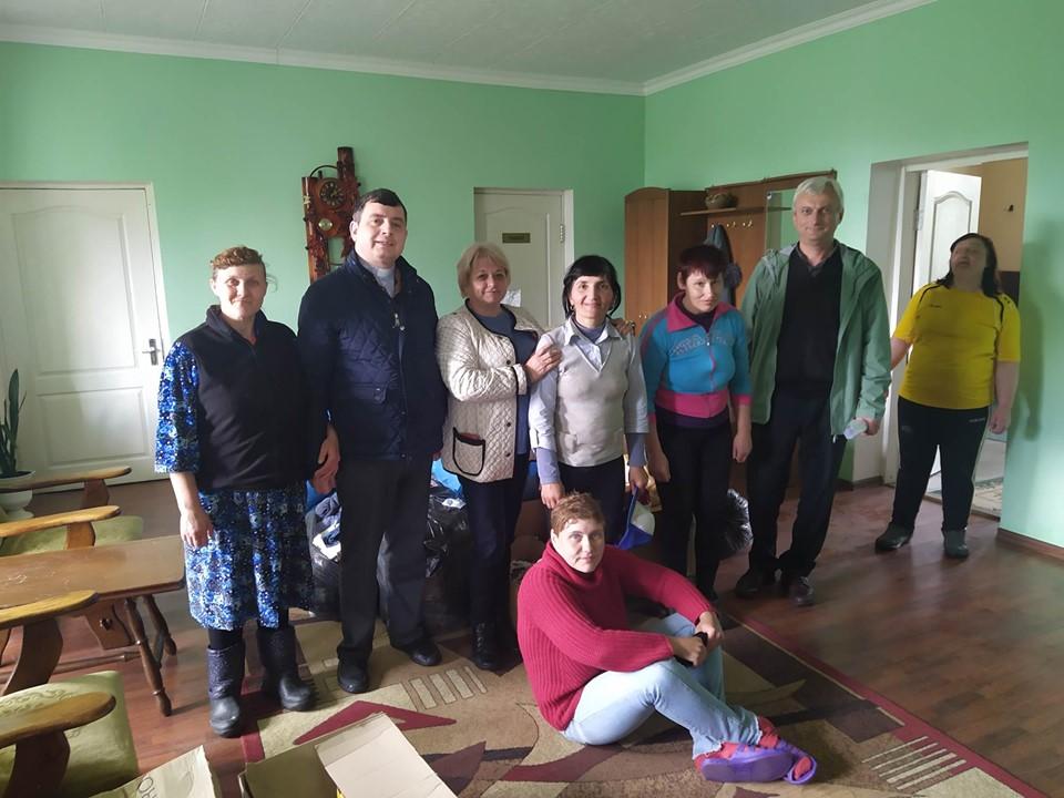 Візит у психоневрологічний інтернат у Поповичах