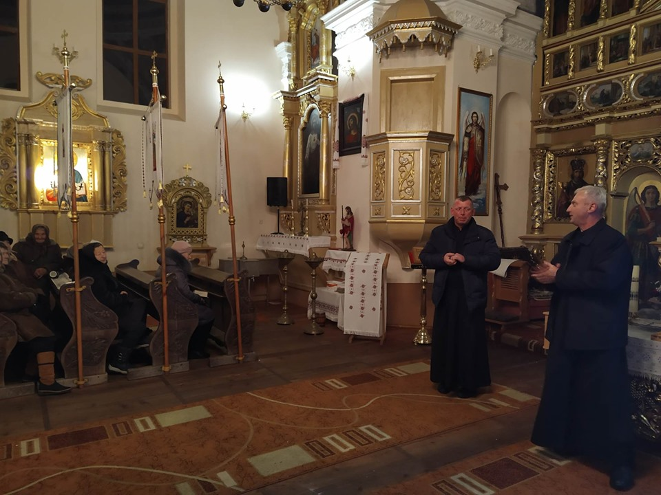 Перша презентаційно-мотиваційна зустріч з активізації парафіяльного соціального служіння у Поморянах